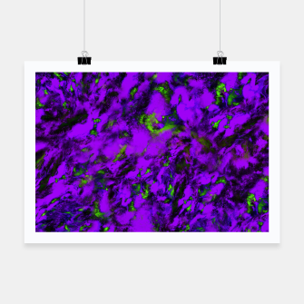 Thumbnail image of Fluttering purple Poster, Live Heroes