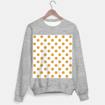Thumbnail image of Mustard Dots White Lines Sweater regular, Live Heroes