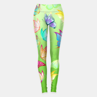Thumbnail image of Summer Butterflies Leggings, Live Heroes