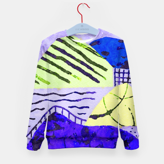 Thumbnail image of Natural Charm Kid's sweater, Live Heroes