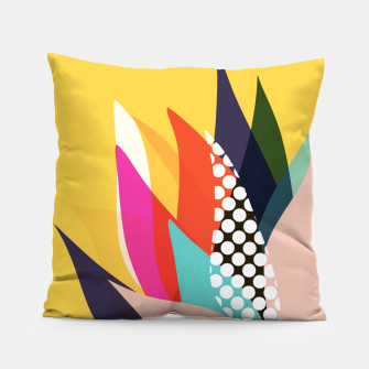 Thumbnail image of Mustard Seed Tulip Pillow, Live Heroes