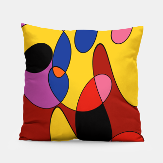 Thumbnail image of Mustard Seed Circus Pillow, Live Heroes