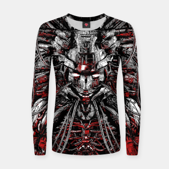 Thumbnail image of Machine Medusa Women sweater, Live Heroes