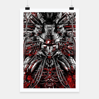 Thumbnail image of Machine Medusa Poster, Live Heroes