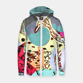 Thumbnail image of Poison Zip up hoodie, Live Heroes