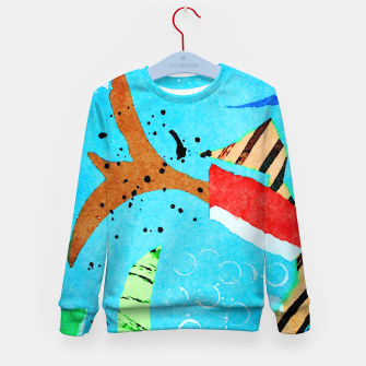 Thumbnail image of Flying Kid's sweater, Live Heroes