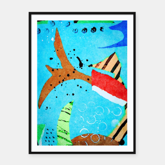Thumbnail image of Flying Framed poster, Live Heroes