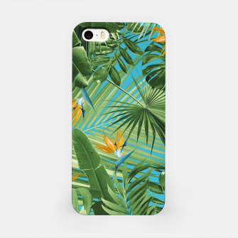 Thumbnail image of Bird of Paradise Jungle Leaves Dream #1 #tropical #decor #art iPhone-Hülle, Live Heroes