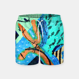 Thumbnail image of Lucky Man Swim Shorts, Live Heroes