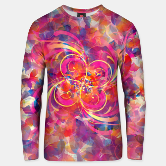 Thumbnail image of Butterfly Spiral Unisex sweater, Live Heroes
