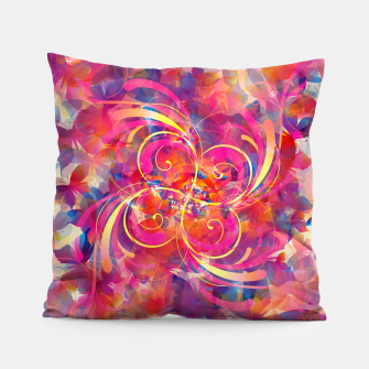 Thumbnail image of Butterfly Spiral Pillow, Live Heroes