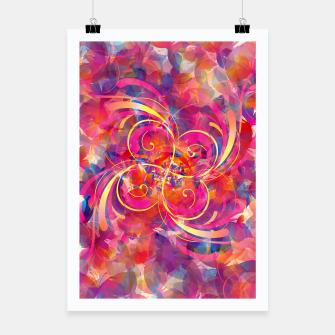 Thumbnail image of Butterfly Spiral Poster, Live Heroes