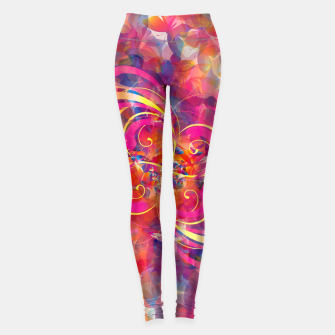 Thumbnail image of Butterfly Spiral Leggings, Live Heroes