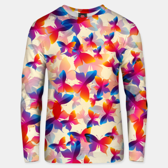 Thumbnail image of Butterflies Unisex sweater, Live Heroes