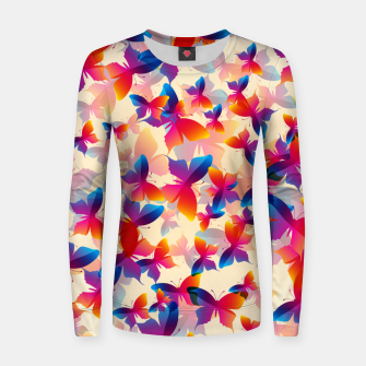 Thumbnail image of Butterflies Women sweater, Live Heroes