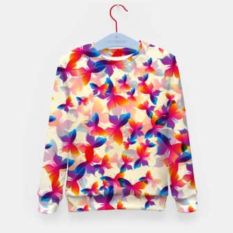 Thumbnail image of Butterflies Kid's sweater, Live Heroes