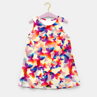 Thumbnail image of Butterflies Girl's summer dress, Live Heroes