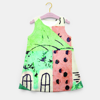 Miniatur Best Home Girl's summer dress, Live Heroes