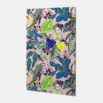 Thumbnail image of Nature tropic leaves 10 Canvas, Live Heroes