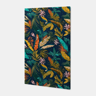 Thumbnail image of Dark exotic nature vibrant Canvas, Live Heroes