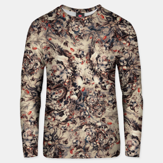 Thumbnail image of Skulls and Snakes Unisex sweater, Live Heroes