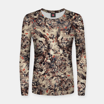 Miniatur Skulls and Snakes Women sweater, Live Heroes