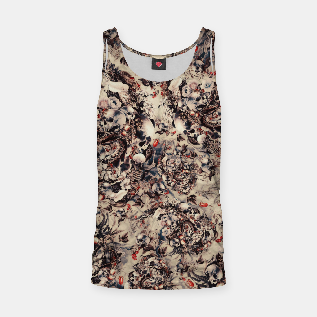 Image of Skulls and Snakes Tank Top - Live Heroes