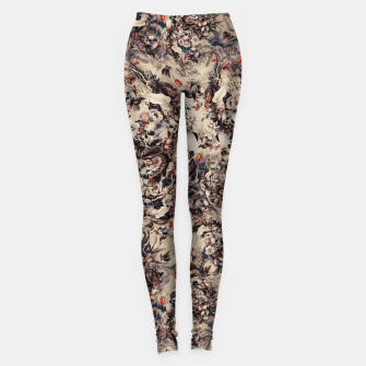 Miniatur Skulls and Snakes Leggings, Live Heroes