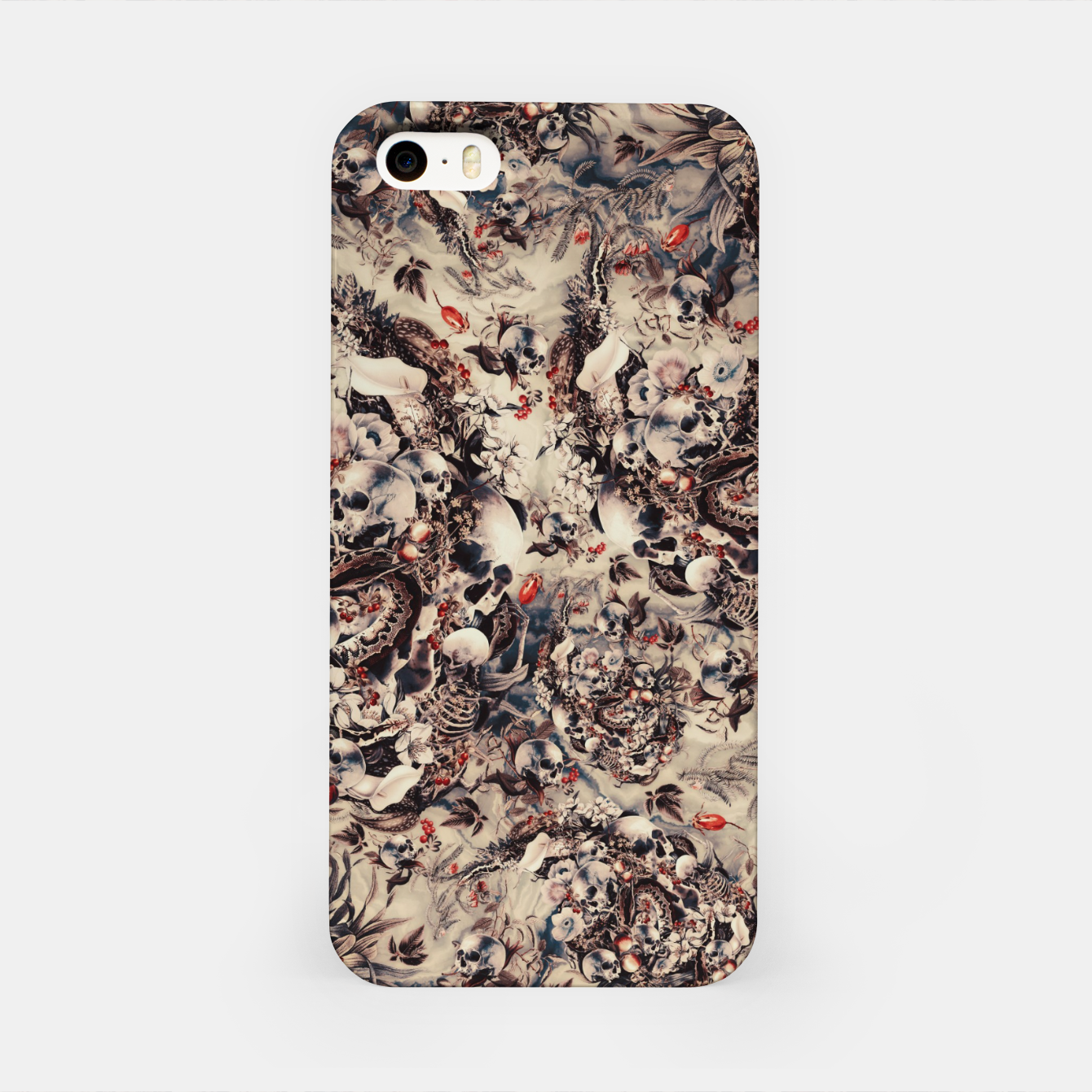 Foto Skulls and Snakes iPhone Case - Live Heroes