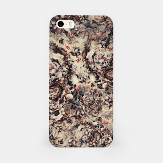 Miniatur Skulls and Snakes iPhone Case, Live Heroes