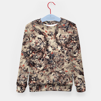 Thumbnail image of Skulls and Snakes Kid's sweater, Live Heroes