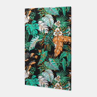 Thumbnail image of Tropical dark 12 Canvas, Live Heroes