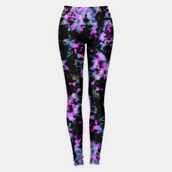 Thumbnail image of Abstract Intricate Texture Print Leggings, Live Heroes