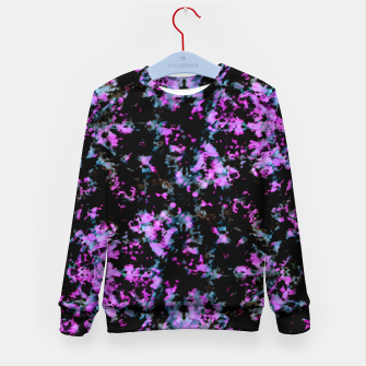 Thumbnail image of Abstract Intricate Texture Print Kid's sweater, Live Heroes