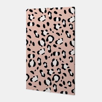 Miniatur Leopard Animal Print Glam #12 #pattern #decor #art  Canvas, Live Heroes