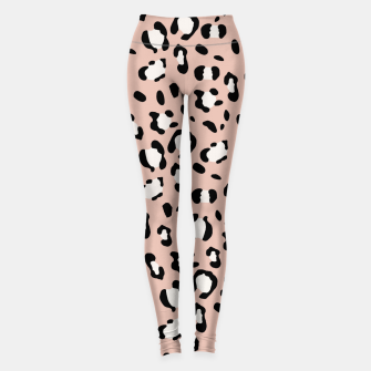 Miniatur Leopard Animal Print Glam #12 #pattern #decor #art  Leggings, Live Heroes