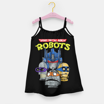 Thumbnail image of Ninja Robots Girl's dress, Live Heroes