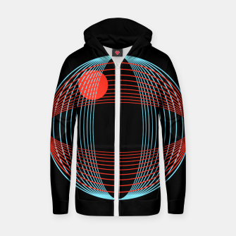 Miniatur Astronomical Discovery Zip up hoodie, Live Heroes