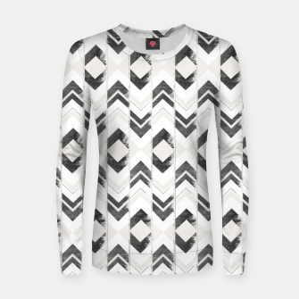Miniaturka Tribal Boho Arrow Pattern #1 #aztec #decor #art Frauen sweatshirt, Live Heroes