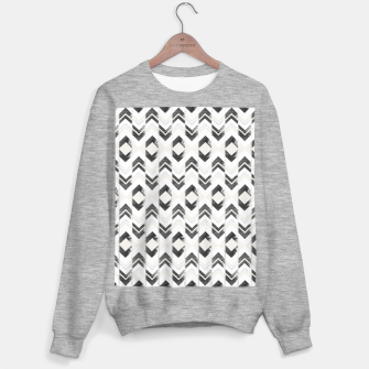 Miniaturka Tribal Boho Arrow Pattern #1 #aztec #decor #art Sweatshirt regulär, Live Heroes