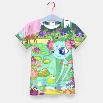 Thumbnail image of Lake-Spirit and the Frogs Kid's t-shirt, Live Heroes