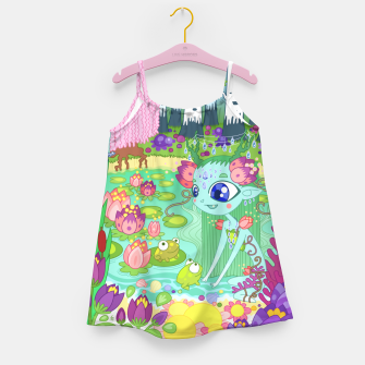 Thumbnail image of Lake-Spirit and the Frogs Girl's dress, Live Heroes