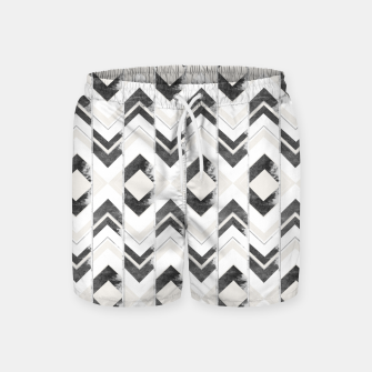 Miniaturka Tribal Boho Arrow Pattern #1 #aztec #decor #art Badeshorts, Live Heroes