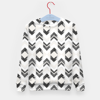 Miniaturka Tribal Boho Arrow Pattern #1 #aztec #decor #art Kindersweatshirt, Live Heroes