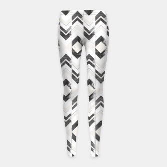 Miniaturka Tribal Boho Arrow Pattern #1 #aztec #decor #art Kinder-Leggins, Live Heroes
