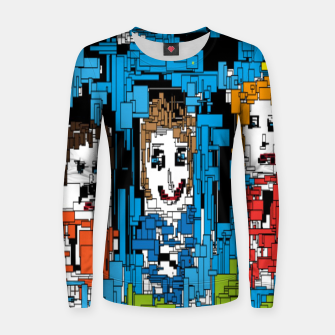 Thumbnail image of Bluesky Women sweater, Live Heroes