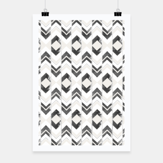 Miniaturka Tribal Boho Arrow Pattern #1 #aztec #decor #art Plakat, Live Heroes