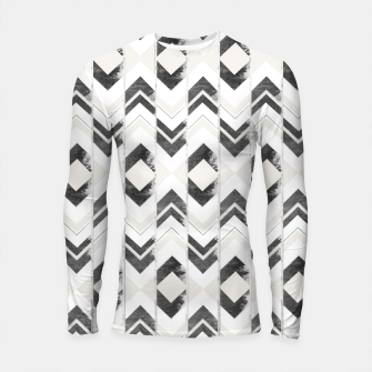 Miniaturka Tribal Boho Arrow Pattern #1 #aztec #decor #art Longsleeve rashguard, Live Heroes