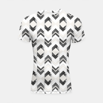 Miniaturka Tribal Boho Arrow Pattern #1 #aztec #decor #art Shortsleeve rashguard, Live Heroes
