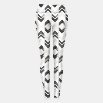 Miniaturka Tribal Boho Arrow Pattern #1 #aztec #decor #art Leggings, Live Heroes